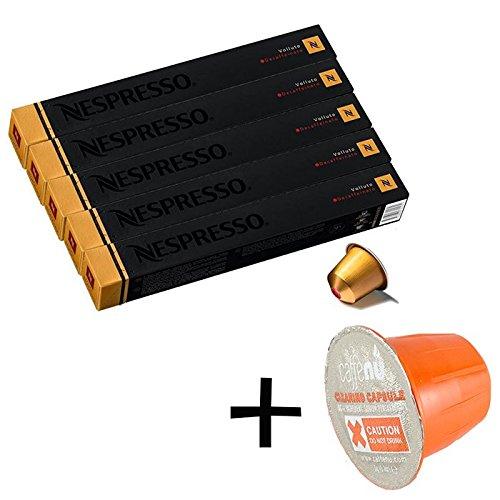 (유익 세트/세제 샘플1 개부착) NESPRESSO 네스프레소 캡슐 커피 《보류토》・데카 회 1개 10캡슐x5개 세트