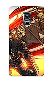 Crazinesswith Durable Bioshock Infinite Back Case/ Cover For Galaxy S5 For Christmas' Gifts