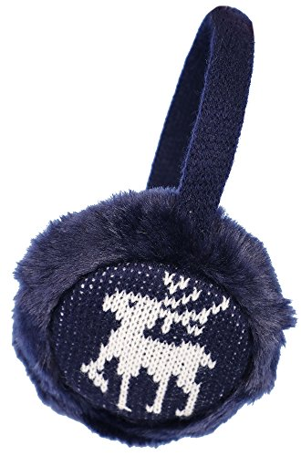 Simplicity Thermal Insulated Soft Faux Fur Knit Ear Muffs Winter, Royal Blue (Insulated Ear Muffs compare prices)