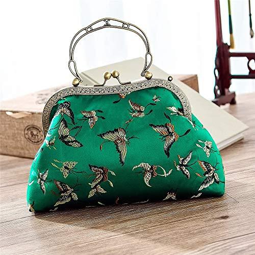 Style Papillon Handmade Silk À Main Brocard Sac Chinois Y1q6H4gY