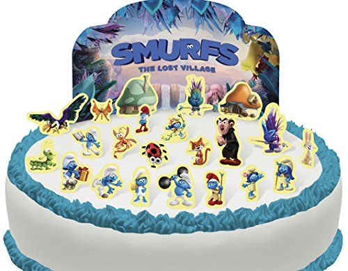 Cakeshop PRE-CUT Smurfs Edible Cake Scene - 23 -
