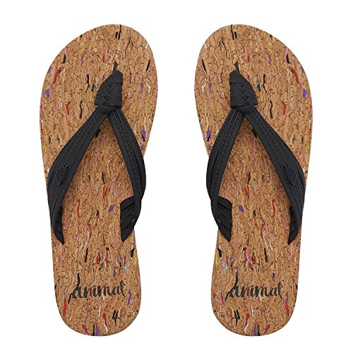 Animal Womens/Ladies Summer Flip-Flops Multi FM3ix