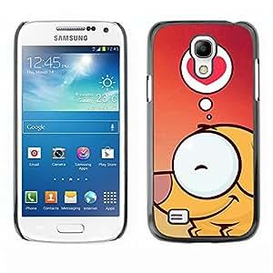 Be Good Phone Accessory // Dura Cáscara cubierta Protectora Caso Carcasa Funda de Protección para Samsung Galaxy S4 Mini i9190 MINI VERSION! // Cute Dog Love