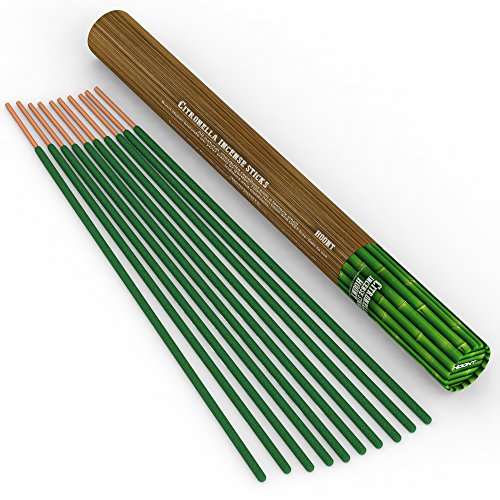 Hoont Citronella Incense Sticks - Long Lasting 21