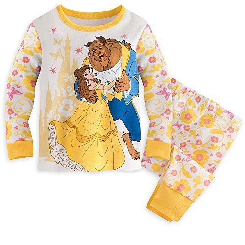 Disney Belle and Beast PJ PALS Pajamas for Baby 12-18 MO (Pajamas Stores)
