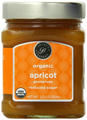 Grandma Hoerner's Organic Preserves, Apricot, 12.5 oz (Organic Apricot Spread)