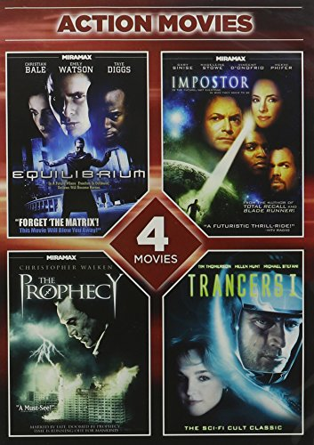 4-Movie Action Pack 2 [DVD] [Region 1] [US Import] [NTSC]