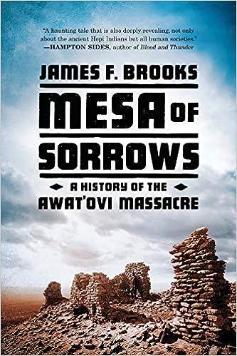 A History of the Awatovi Massacre Mesa of Sorrows