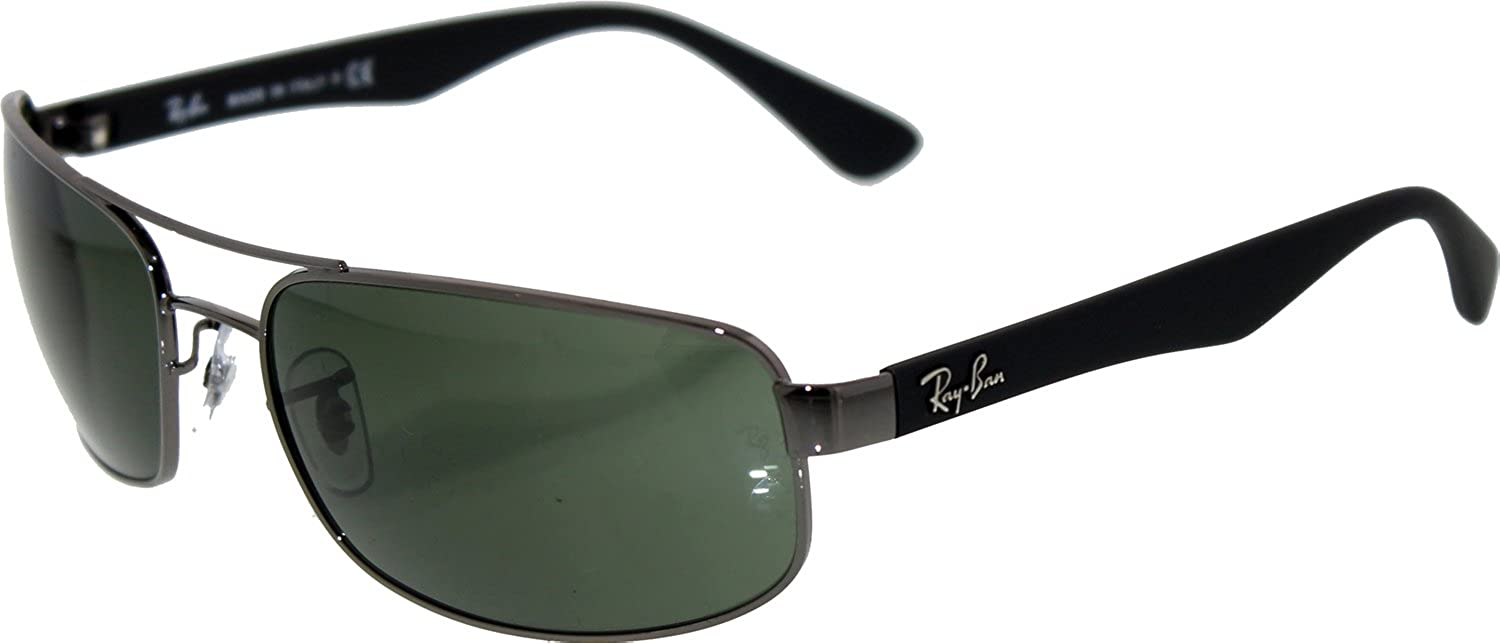 lentes ray ban sunglasses by luxottica  amazon: brand new ray ban rb 3445 004 sunglasses by luxottica: ray ban: shoes