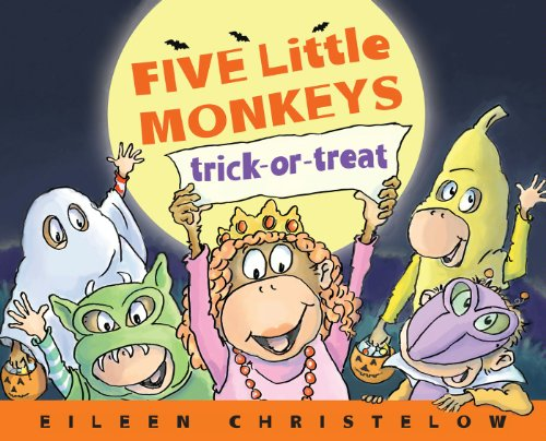Five Little Monkeys Trick-or-Treat (A Five Little Monkeys Story) -