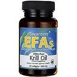 100% Pure Krill Oil 500 mg 60 Sgels