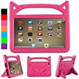 All-New Kindle fire case and fire 7 2017 Tablet for Kids Case - Mr. Spades,Kids Shock Proof Protective Cover Case for Amazon Fire 7 Tablet (Compatible with 5th Generation 2015/7th Generation 2017)