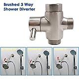Shower Arm Diverter Valve, 3 Way Shower Diverter