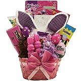 GreatArrivals Easter Glamour Girl Gift Basket for Girls, 6-9 Years
