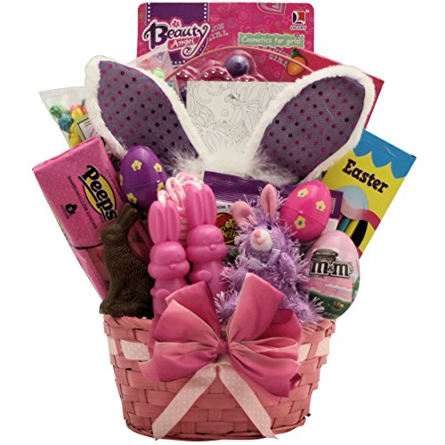 GreatArrivals Easter Glamour Girl Gift Basket for Girls, 6-9 (Easter Basket For Girls)
