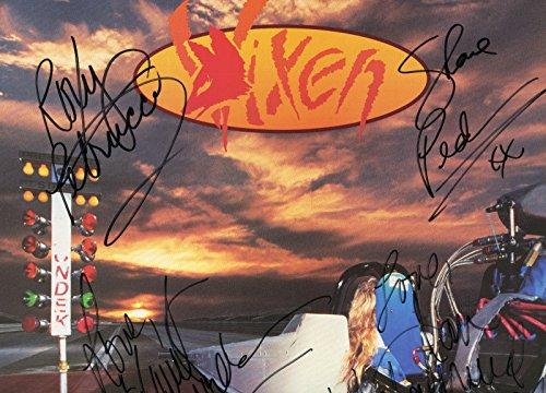 Original Album Flat - VIXEN rare signed
