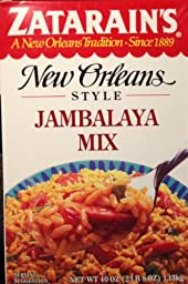 Zatarain\'s New Orleans Style Jambalaya Mix 40 oz Box