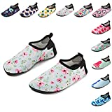 CiiaoLeoo Kids Water Shoes Quick-Dry Swim Barefoot Aqua Socks Shoes for Beach Pool Surfing Dance