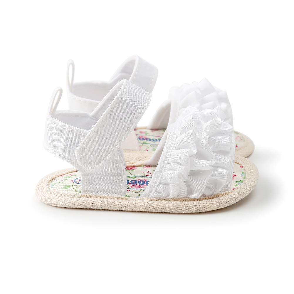 Kids Baby Girl Soft Sole Shoes Anti-Slip Sandals Prewalkers First Walkers Walking Shoe