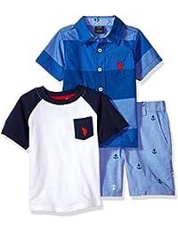 Boys Sleeve, T-Shirt and Short Set