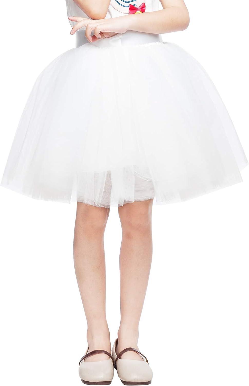 Falda de tutú Retro para niñas 50 Disfraces Mardi Gras Enagua de ...