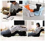 NOVII Folding Floor Chair with 14-Position