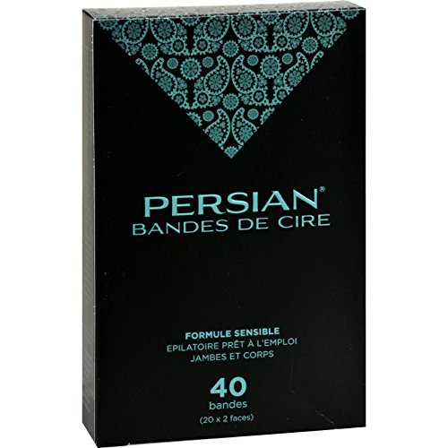 Parissa Persian Wax Strips for Legs - 40 Pack by Parissa