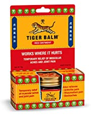 Tiger Balm Ointment, Red, 18 grams