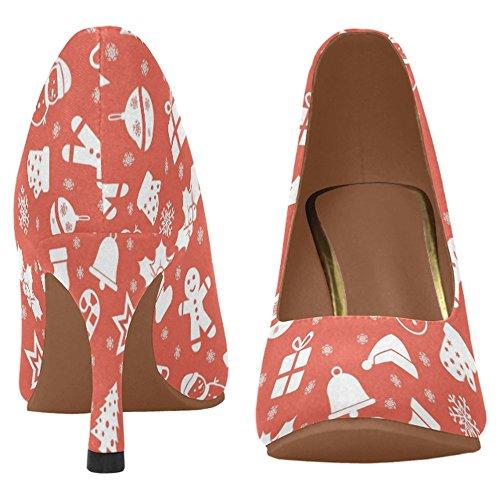 Scarpe Da Donna Di Alta Moda Stile Classico Womens Scarpe Con Tacco Alto Multi 5