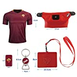 #10 Totti (6 in 1 Combo) The Wolves Home Adult Soccer Jersey 2016-2017