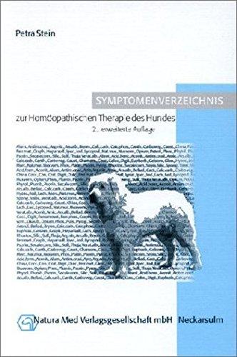 Symptomenverzeichnis Zur Homöopathischen Therapie Des Hundes