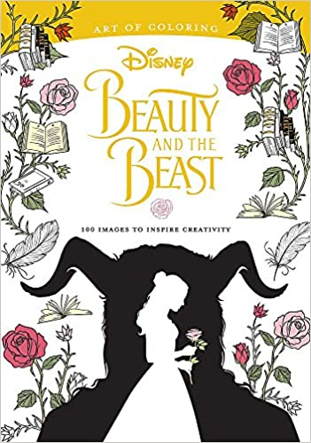 Amazon.com: Art of Coloring: Beauty and the Beast: 100 Images to ...
