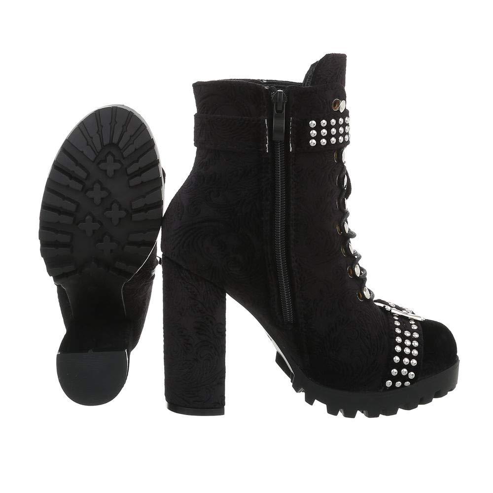 Damen Schuhe Stiefeletten High Heels Heels Heels Stiefel Stiletto sexy Partystiefel Gogo EUR 36-EUR 41 457569