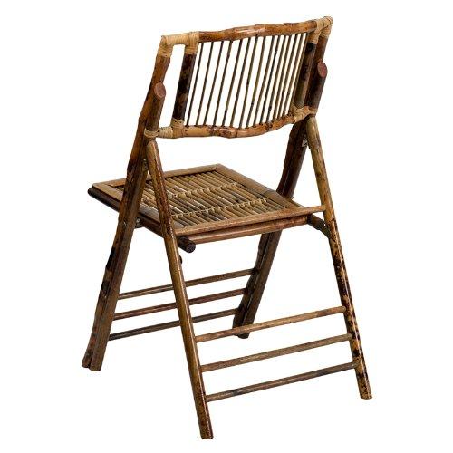 Flash Furniture American Champion Bamboo Folding Chair by Flash Furniture (Image #2)