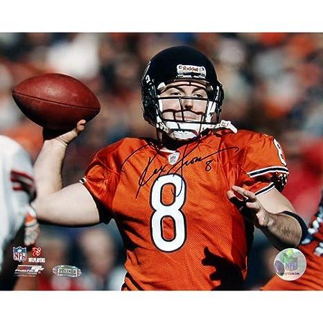 pretty nice c5a44 5ffe1 Amazon.com : Steiner Sports NFL Chicago Bears Rex Grossman ...