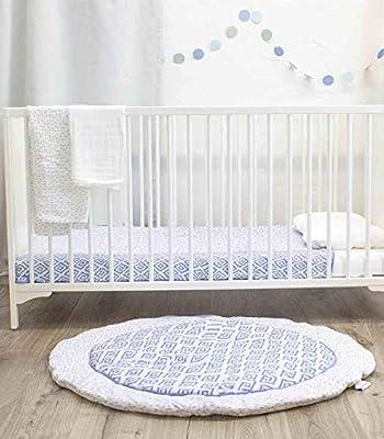 Azul ideal como manta para beb/és Esterilla de juego para beb/és emma /& noah muchos colores y tama/ños parches c/álidos y suaves