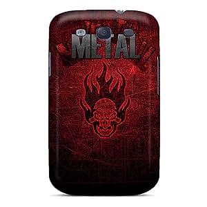 Anti-Scratch Hard Phone Case For Samsung Galaxy S3 (coj3545PxdA) Allow Personal Design Fashion Metallica Series