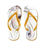 CafePress White Horse Eyes - Flip Flops, Funny Thong Sandals, Beach Sandals