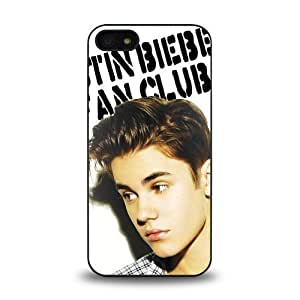 iPhone 5 5C case protective skin cover with Pop Star Justin Bieber JB cool design #5C