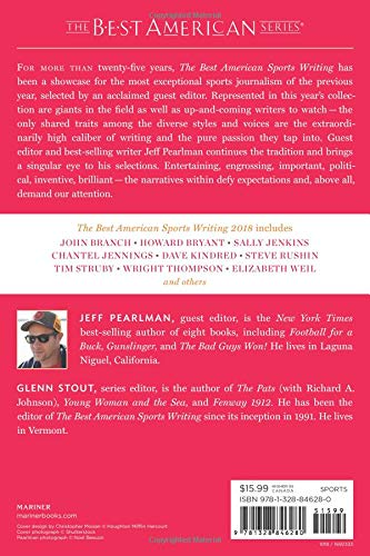 The Best American Sports Writing 2018 (The Best American Series ®) by Mariner Books