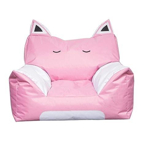 Amazon.com: RMXMY - Puf para niños, diseño de gato: Kitchen ...
