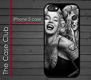 Pink Ladoo? ipod touch 5 ipod touch 5 Case - Marilyn Monroe Dia de Los Muertos Day of Dead Skull Tattoo