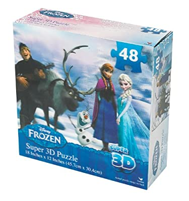 Disney Frozen Super 3D Puzzle (48-Piece)