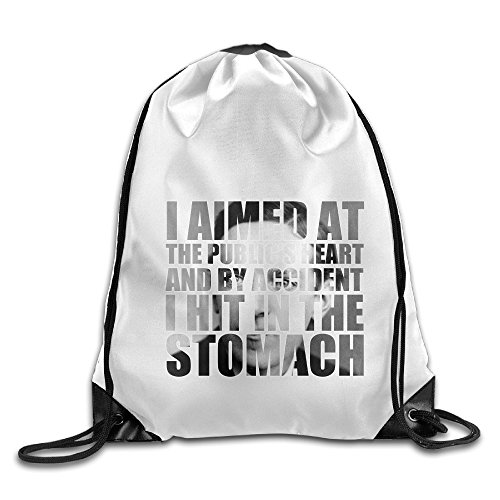 Bekey Upton Sinclair Drawstring Backpack Sport Bag For Men & Women For Home Travel Storage Use Gym Traveling Shopping Sport Yoga - Pittsburgh Shopping Pennsylvania In