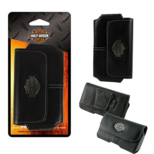 Harley Davidson Leather Magnetic Riding Case for iphone 6.