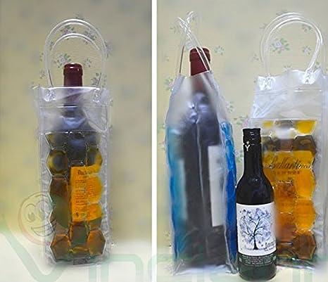 Bolsa térmica líquido refrigerante para botella cerveza vino champán Cava: Amazon.es: Electrónica