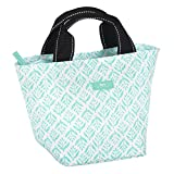 SCOUT Little Tripper Small & Lightweight Everyday Accessory Tote Bag, Interior Pocket, Water Resistant, Zips Closed, Aqua Fresca