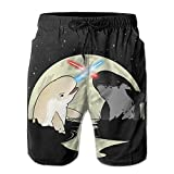 The Most Popular Style Narwhal Battle Hot Elastic Summer Shorts For Swimmer