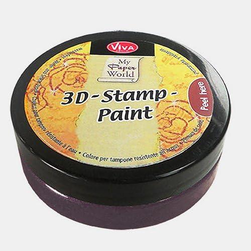 Viva Decor 119380036 3D Stamp Paint Black