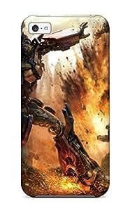 Iphone 5c Case Bumper PC Skin Cover For Transformers Accessories